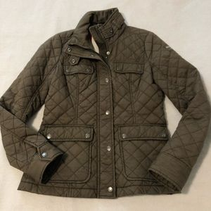 Abercrombie + fitch quilted jacket
